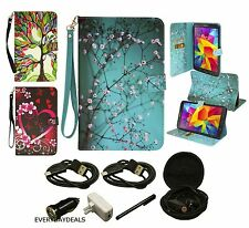 Folio PU Leather Tablet Case Stand Cover For Samsung Galaxy Tab 4 8.0 T330 +MORE