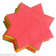 "Fluorescent POS Stars For Shop Price Marking 3"" 4"" or 6"" Fluorescent Price Stars"