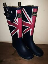 JOULES Wellies Welly Boots Union Jack Design Sz 3 FreeUKP&P