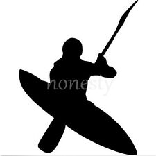 Kayaker Kayak Print Car Laptop Window Wall Auto Bumper Vinyl Decal Sticker Gift