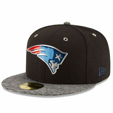 New England Patriots New Era 2016 NFL Draft 59FIFTY Fitted Cap Hat – Black/He...