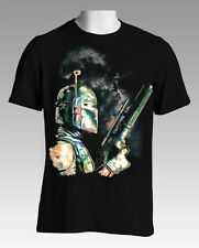SALE New Licensed Quality Star Wars Boba Fett T-Shirt Size Small - Free Postage
