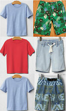 Boy Summer Lot Top Tee + Shorts Jeans Pull-on Sock GAP 100% Cotton Multi 2 3 4 5