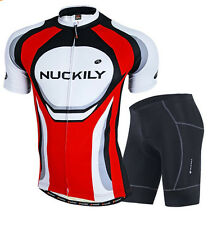 Men Pro Team Bike Bicycle Jersey Shorts Set Cycling Clothing Racing Clothes Suit