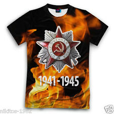 MAY 9 Victory Day 1941-1945 T-shirt 3D New Cool Russian Sportswear Big sizes!