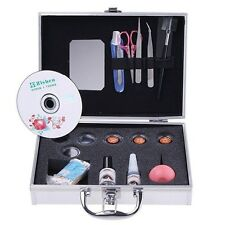 Pro Makeup False Eyelashes Extension Kit Full Set Graft Cosmetic Set Eyelash