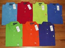NWT Polo Ralph Lauren Womens Pony Logo Classic Fit Polo Shirt Choice 7-Color *W3