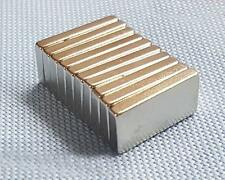 Super Strong Block Rare Earth Neodymium Powerful Magnets N35 20mm x 10mm x 3mm