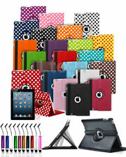 Amazon Kindle Fire 7 inch (5th Gen 2015) - 360 Rotating Folio Case Cover & Mini