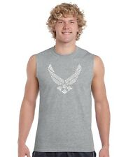 Men's Sleeveless Shirt - Lyrics To The Air Force Song
