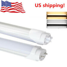 """T8 LED Tube Light Fluorescent Replace Bulb 23.62""""/35.43""""/47.24 Inch 10W 14W 20W"""