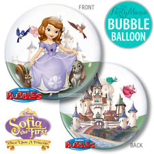 SOFIA THE FIRST PRINCESS BIRTHDAY PARTY SUPPLIES DECORATIONS BUBBLE BALLOON