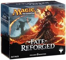 MTG MAGIC THE GATHERING FATE REFORGED SEALED FAT PACK BOX +  PROMO CARD