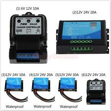 Waterproof Auto PWM Solar Panel Cell Battery Power Regulator Charge Controller