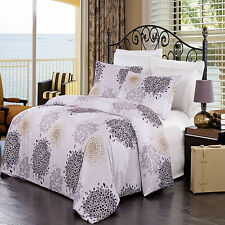 Fifi Wrinkle-Free 3-Piece 100% Microfiber Duvet Cover Set Multi-piece set