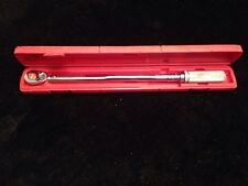 Snap on torque wrench
