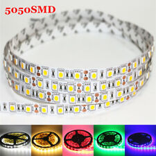 Waterproof SMD 5050 Led Strip RGB 5m 300 Leds Light Flexible Lamp+Remote Control