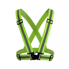 Reflective Vest with Hi Vis Bands Dog Walking High Visibility Neon Green Orange