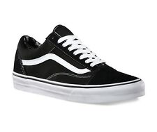 VANS OLD SKOOL Black/White 000D3HY28 CANVAS SUEDE SNEAKERS MEN SHOES