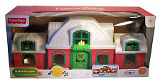 Fisher-Price Little People Santa's North Pole Cottage w/Holiday Music & Lights