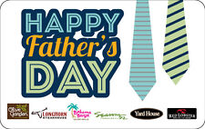 Longhorn Steakhouse Happy Father's Day - Gift Card $25 $50 $100  Email delivery