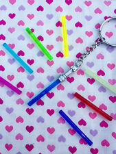 Star Wars Light Saber Keychain- Choose Your Colour...Handmade using LEGO® parts