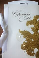ANNIVERSARY CARD for FRIENDS FAMILY THEIR WEDDING ANNIVERSARY by HALLMARK W/ENV