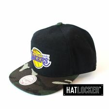 Mitchell & Ness - LA Lakers Camo H Panel Strapback