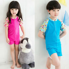 Summer Hot Children Piece Rash Guard Surfing Clothing Scuba Snorkeling Wetsuit
