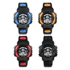 Waterproof Mens Digital LED Quartz Alarm Sports Wrist Watch Vogue Watches