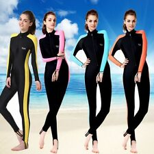 New Long Sleeve Full Body Rash Guard Surfing Scuba Suit Swimwear Lycra Jumpsuit