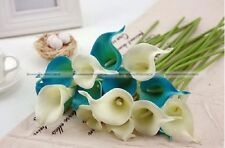 10pcs Calla Lily Bouquet Real Touch Callas Flowers For Bridal Bouquets