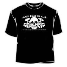 Island Drinking Clup Fathers Day Tee Shirt