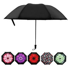 Fashion New Colorful Anti UV Parasol Flower Folding Sun/Rain Windproof Umbrella