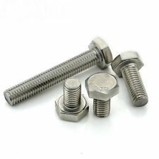 M10 Fully Thread Hexagon Head A2 Stainless Steel Set Screw Bolts