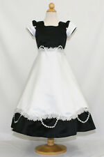New Girl Pageant Wedding Easter Recital Formal Party Dress Black sz: 4 6 8 10 12