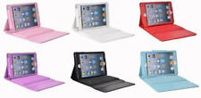 Leather Case Cover with Built-in Bluetooth Wireless Keyboard for iPad2/3/4