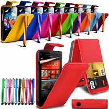 Case For Various Vodafone Mobile Phone Top Flip Cover & Stylus Pen