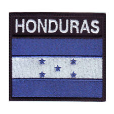 HONDURAS BADGE FLAG EMBROIDERED  PATCH