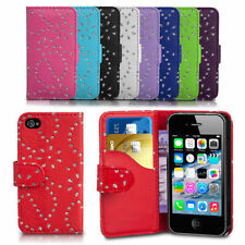 Diamond Bling Gliter Flip Wallet Case Cover For Nokia Lumia 735 / LTE RM-1039