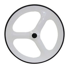700C Tri-spoke carbon Wheelsets 70mm tri-spoke front wheels rear wheel UD Glossy