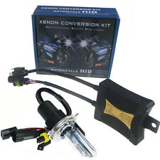 55W SLIM HID Conversion Xenon Kit Motorcycle 9003 H4 5000K 6000K 8000K 10000K