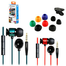 awei T10vi 3.5mm Plug Wired Stereo In-ear Earphones Microphone & Volume Control.