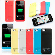 2200mAh External Battery Backup Charger Case Pack Power Bank for iPhone 5S 5C 5G