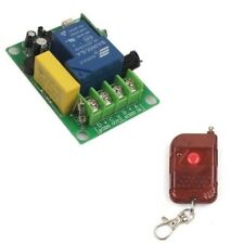 30A AC 220V 1 CH Relay 315/433MHz Wireless Remote Switch Transmitter+Receiver