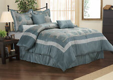 DANNICA Comforter Set With Shams, Bed Skirt and Pillow, 7-Piece