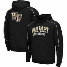 Wake Forest Demon Deacons Black Thriller Pullover Hoodie
