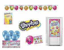 SHOPKINS BIRTHDAY PARTY DECORATIONS Banners Balloons Door Banner