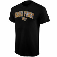 Wake Forest Demon Deacons Youth Black Arched University T-Shirt