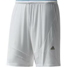 adidas climacool mens F50 Messi white blue home football training shorts D86215